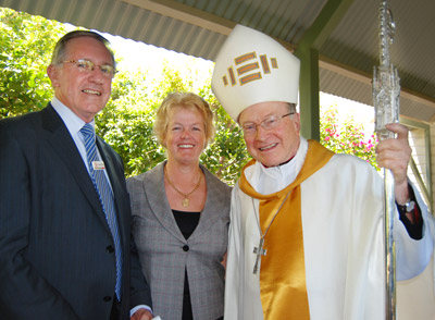 Keith Campbell, Dorothy Pratt, Archbishop Bathesby