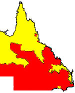 Drought declared areas