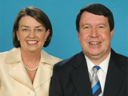 Anna Bligh and Paul Lucas
