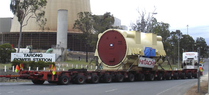 Stator arrives at Tarong Power Station