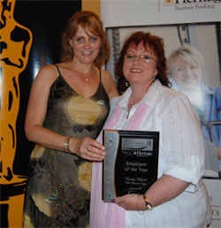 Karyn Bjelke-Petersen and Wendy Elford